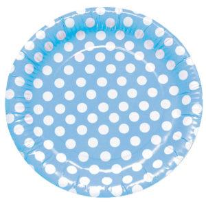 Deco Lunares Azul y Blanco
